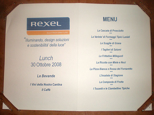 Workshop Rexel
